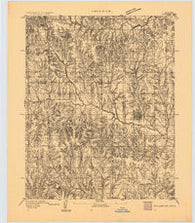 Stillwater Oklahoma Historical topographic map, 1:62500 scale, 15 X 15 Minute, Year 1893