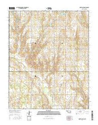 Sweetwater Oklahoma Current topographic map, 1:24000 scale, 7.5 X 7.5 Minute, Year 2016