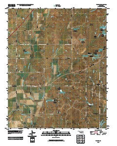 Tabler Oklahoma Historical topographic map, 1:24000 scale, 7.5 X 7.5 Minute, Year 2009