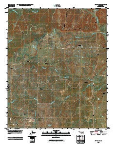 Tupelo NE Oklahoma Historical topographic map, 1:24000 scale, 7.5 X 7.5 Minute, Year 2009