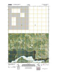 Cornwall West Ontario Historical topographic map, 1:24000 scale, 7.5 X 7.5 Minute, Year 2011