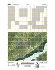 Morrisburg Ontario Historical topographic map, 1:24000 scale, 7.5 X 7.5 Minute, Year 2011