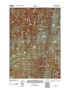 Alder Creek Oregon Historical topographic map, 1:24000 scale, 7.5 X 7.5 Minute, Year 2011