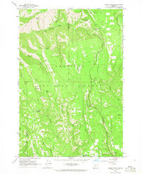 Andies Prairie Oregon Historical topographic map, 1:24000 scale, 7.5 X 7.5 Minute, Year 1963