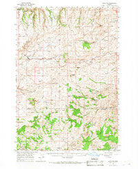 Antelope Oregon Historical topographic map, 1:62500 scale, 15 X 15 Minute, Year 1966