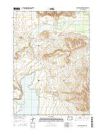 Antelope Reservoir Oregon Current topographic map, 1:24000 scale, 7.5 X 7.5 Minute, Year 2014 from Oregon Map Store
