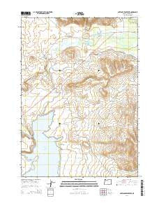 Buy Topo Map Antelope Reservoir Or 2014 Yellowmaps Map Store