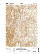 Bannock Ridge Oregon Current topographic map, 1:24000 scale, 7.5 X 7.5 Minute, Year 2014 from Oregon Map Store