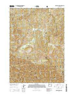 Barklow Mountain Oregon Current topographic map, 1:24000 scale, 7.5 X 7.5 Minute, Year 2014 from Oregon Map Store