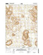 Barton Lake Oregon Current topographic map, 1:24000 scale, 7.5 X 7.5 Minute, Year 2014 from Oregon Map Store