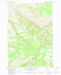 Blalock Mountain Oregon Historical topographic map, 1:24000 scale, 7.5 X 7.5 Minute, Year 1963