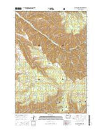 Blalock Mountain Oregon Current topographic map, 1:24000 scale, 7.5 X 7.5 Minute, Year 2014 from Oregon Map Store
