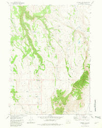 Comegys Lake Oregon Historical topographic map, 1:24000 scale, 7.5 X 7.5 Minute, Year 1981