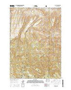 Day Basin Oregon Current topographic map, 1:24000 scale, 7.5 X 7.5 Minute, Year 2014 from Oregon Map Store