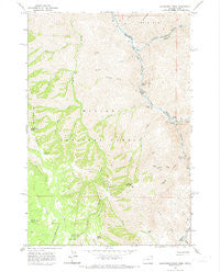 Deadhorse Ridge Oregon Historical topographic map, 1:24000 scale, 7.5 X 7.5 Minute, Year 1963