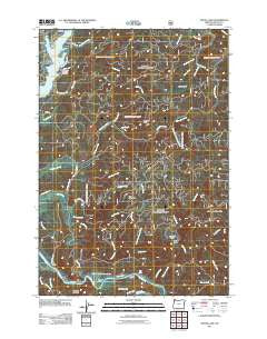 Devils Lake Oregon Historical topographic map, 1:24000 scale, 7.5 X 7.5 Minute, Year 2011