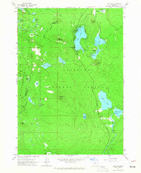 Elk Lake Oregon Historical topographic map, 1:24000 scale, 7.5 X 7.5 Minute, Year 1963