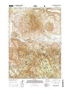 Ferguson Mountain Oregon Current topographic map, 1:24000 scale, 7.5 X 7.5 Minute, Year 2014 from Oregon Map Store