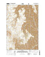 Findley Buttes Oregon Current topographic map, 1:24000 scale, 7.5 X 7.5 Minute, Year 2014 from Oregon Map Store