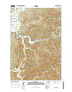 Foley Peak Oregon Current topographic map, 1:24000 scale, 7.5 X 7.5 Minute, Year 2014 from Oregon Map Store