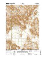 Folly Farm Oregon Current topographic map, 1:24000 scale, 7.5 X 7.5 Minute, Year 2014 from Oregon Map Store