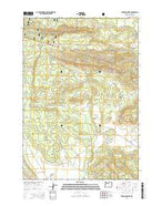 Foreman Point Oregon Current topographic map, 1:24000 scale, 7.5 X 7.5 Minute, Year 2014 from Oregon Map Store