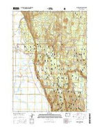 Fort Klamath Oregon Current topographic map, 1:24000 scale, 7.5 X 7.5 Minute, Year 2014 from Oregon Map Store