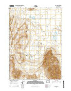 Fort Rock Oregon Current topographic map, 1:24000 scale, 7.5 X 7.5 Minute, Year 2014 from Oregon Map Store