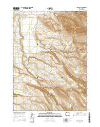 Happy Valley Oregon Current topographic map, 1:24000 scale, 7.5 X 7.5 Minute, Year 2014