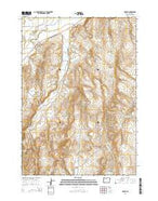 Harper Oregon Current topographic map, 1:24000 scale, 7.5 X 7.5 Minute, Year 2014 from Oregon Map Store