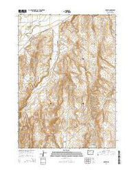 Harper Oregon Current topographic map, 1:24000 scale, 7.5 X 7.5 Minute, Year 2014