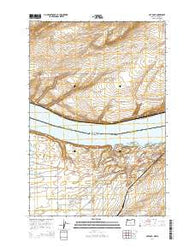 Hat Rock Oregon Current topographic map, 1:24000 scale, 7.5 X 7.5 Minute, Year 2014