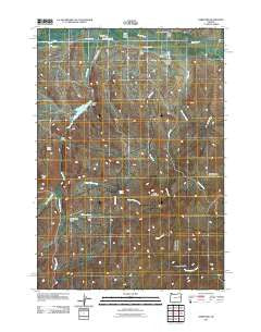Hereford Oregon Historical topographic map, 1:24000 scale, 7.5 X 7.5 Minute, Year 2011