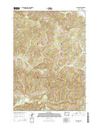 High Point Oregon Current topographic map, 1:24000 scale, 7.5 X 7.5 Minute, Year 2014