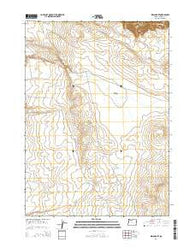 Indian Fort Oregon Current topographic map, 1:24000 scale, 7.5 X 7.5 Minute, Year 2014