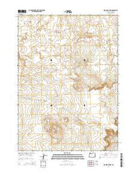 Iron Mountain Oregon Current topographic map, 1:24000 scale, 7.5 X 7.5 Minute, Year 2014