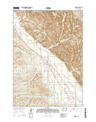 Jamieson Oregon Current topographic map, 1:24000 scale, 7.5 X 7.5 Minute, Year 2014