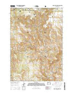 Johnny Cake Mountain Oregon Current topographic map, 1:24000 scale, 7.5 X 7.5 Minute, Year 2014 from Oregon Map Store