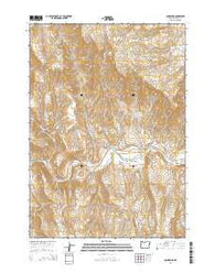 Jonesboro Oregon Current topographic map, 1:24000 scale, 7.5 X 7.5 Minute, Year 2014