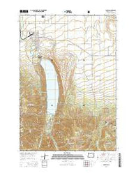 Joseph Oregon Current topographic map, 1:24000 scale, 7.5 X 7.5 Minute, Year 2014