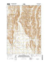 Joseph NW Oregon Current topographic map, 1:24000 scale, 7.5 X 7.5 Minute, Year 2014