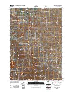 Kelsey Butte Oregon Historical topographic map, 1:24000 scale, 7.5 X 7.5 Minute, Year 2011
