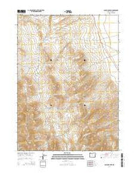 Ladycomb Peak Oregon Current topographic map, 1:24000 scale, 7.5 X 7.5 Minute, Year 2014