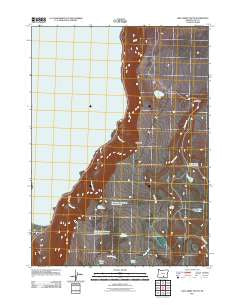 Lake Abert South Oregon Historical topographic map, 1:24000 scale, 7.5 X 7.5 Minute, Year 2011