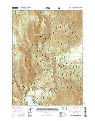 Lake of the Woods North Oregon Current topographic map, 1:24000 scale, 7.5 X 7.5 Minute, Year 2014