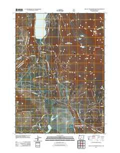 Lake of the Woods South Oregon Historical topographic map, 1:24000 scale, 7.5 X 7.5 Minute, Year 2011