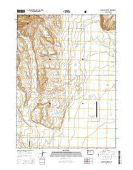 Lakeview Airport Oregon Current topographic map, 1:24000 scale, 7.5 X 7.5 Minute, Year 2014