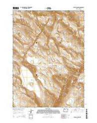 Lambing Canyon Oregon Current topographic map, 1:24000 scale, 7.5 X 7.5 Minute, Year 2014