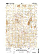 Last Chance Lake Oregon Current topographic map, 1:24000 scale, 7.5 X 7.5 Minute, Year 2014 from Oregon Map Store