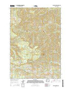 Laurel Mountain Oregon Current topographic map, 1:24000 scale, 7.5 X 7.5 Minute, Year 2014 from Oregon Map Store